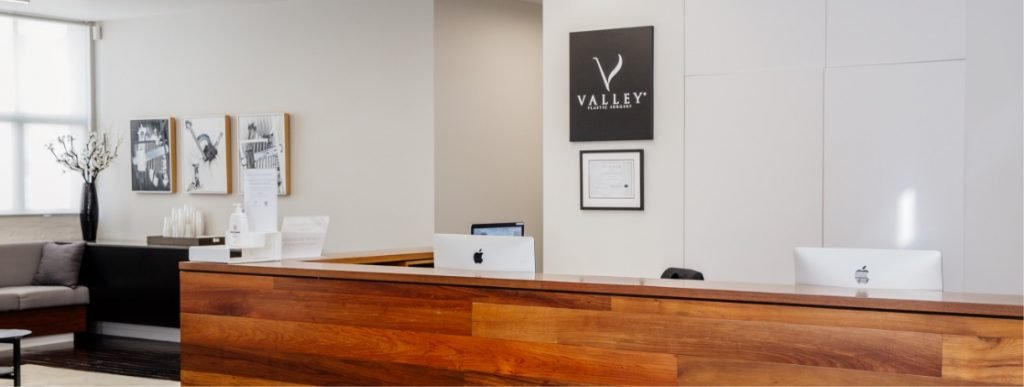 valley plastic surgery - reception - about us page